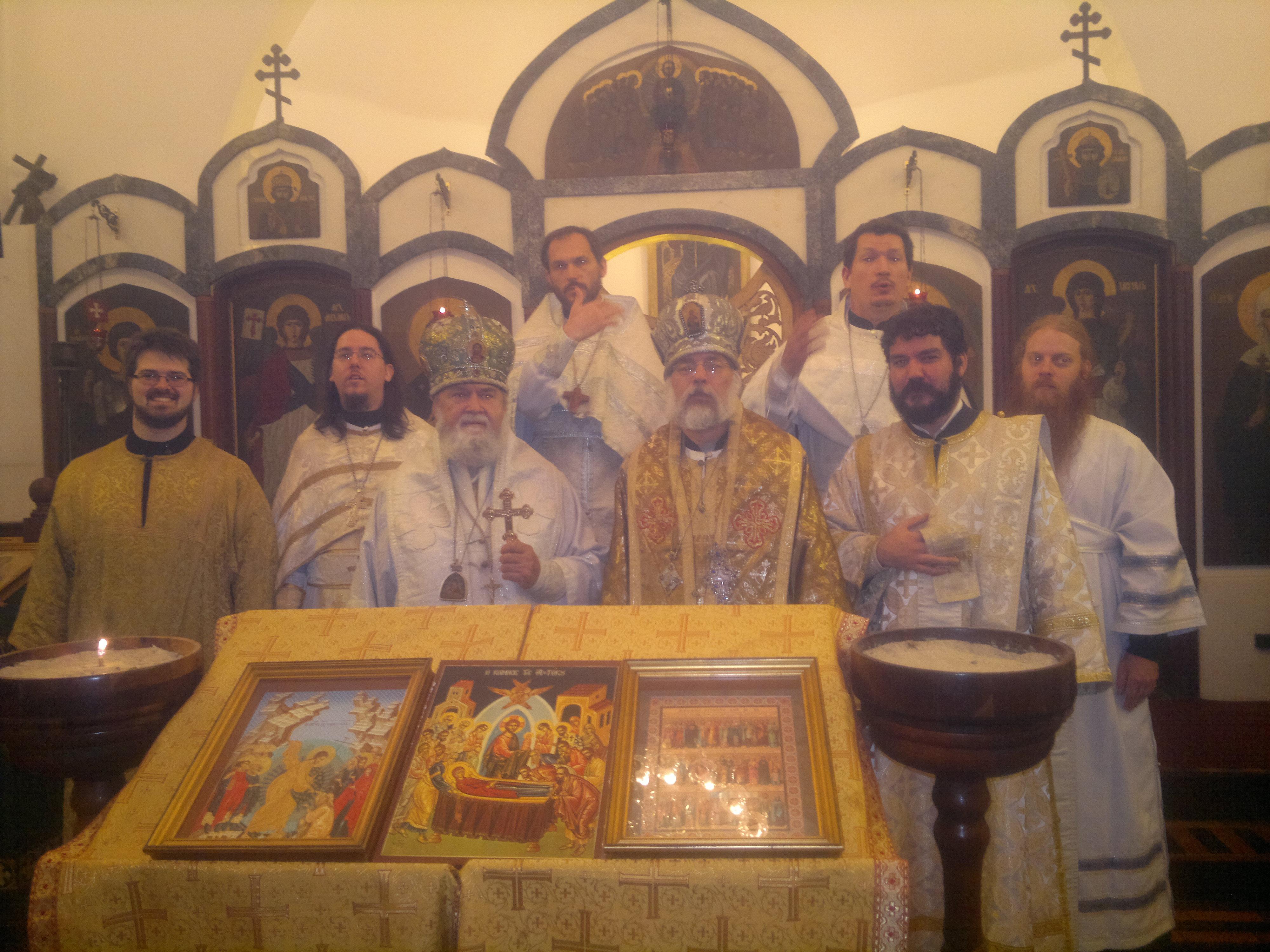 Polish Autocephalous Orthodox Church Metropolita Da Igreja Ortodoxa Russa Despede Se Da Comunidade Da Paróquia De Santa Zenaide No Rio De Janeiro
